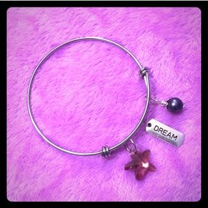"""🆕Stainless Steel """"Dream"""" Charm Bracelet"""